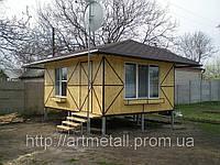 Малоэтажное строительство, каркасные конструкции стоимость