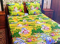 Комплект постельного белья(Смешарики)-Бязь Голд 150*220