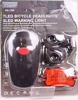 Светодиодный велосипедный фонарь Kaikuo KK-760