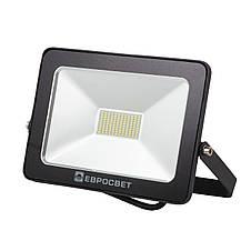Прожектор светодиодный LED 30 Вт (W) EV-30-01 6400K 2100Lm SMD, фото 2