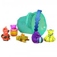 Игровой набор для игры в ванной - БРЫЗГУНЧИКИ-ВЕСЕЛУНЧИКИ для детей от 1 до 2 лет ТМ Battat BX1097