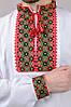 Сорочка вишиванка чоловіча біла бавовна, довгий рукав (Україна), фото 4