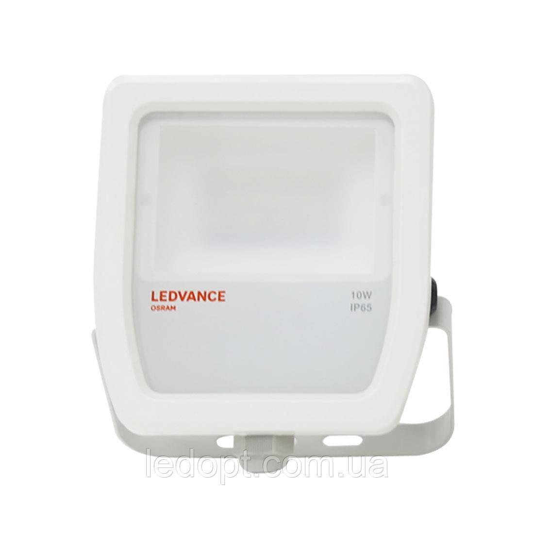 Светодиодный прожектор LEDVANCE OSRAM 10W 3000К IP65 White