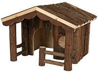 "Домик для кроликов и морских свинок ""Knut"" (дерево) 30х22х30 см"