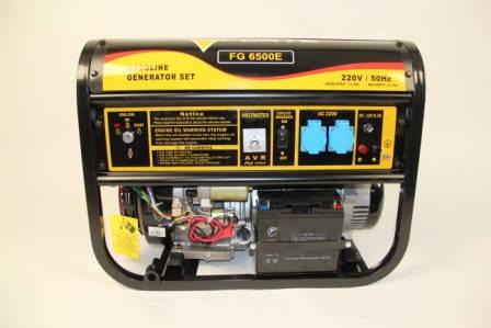 Бензиновый генератор FORTE FG6500E  ( 5,0 кВт), фото 2