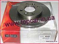 Гальмівний диск передній Renault Kangoo I 238mm*20 Maxgear Польща 19-0747