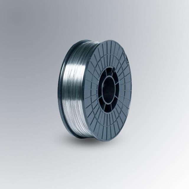 Проволока сварочная для сварки нержавеющей стали   Ф0.8мм ER 321 (СВ-06Х19Н9Т) кассета 5кг