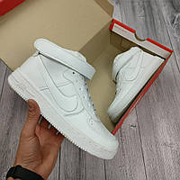 Женские кроссовки Nike Air Force White 🔥 (Найк Аир Форс) Белые