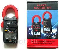 Токовые клещи Мультиметр Тестер цифровой DT399B, фото 1