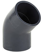 Колено ПВХ ERA 45° - диаметр 40мм