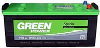 Аккумулятор Green Power 6СТ-190Ач/1250А(EN) (-/+)