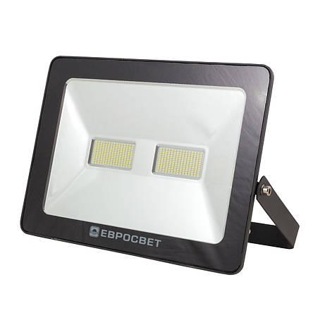 Прожектор светодиодный LED 100 Вт (W) EV-100-01 6400K 8000Lm SMD, фото 2
