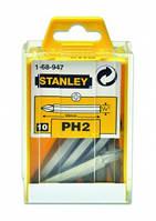 Набор насадок отверточных РН2х50 мм, 10 шт STANLEY