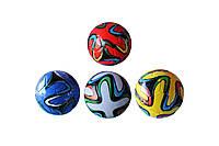 Мяч футбольный Brazuca World Champion 2014 №5: 4 цвета, размер 5