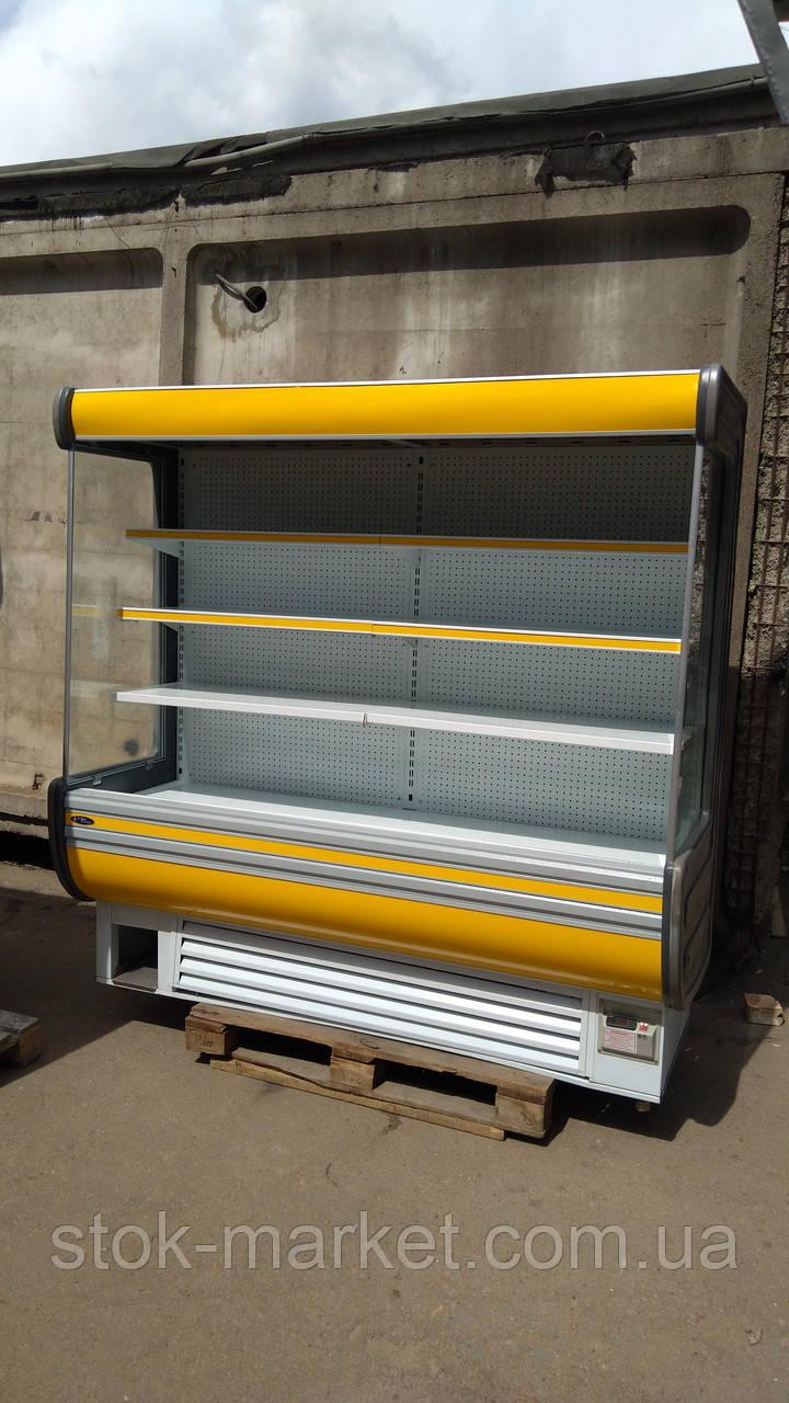 Холодильная горка Технохолод Аризона 2 м. бу,  холодильный регал б/у