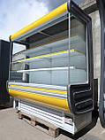 Холодильна гірка Технохолод Арізона 2 м. бу, холодильний регал б/у, фото 3