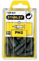 Набор насадок отверточных Cr-V, РН2, 25 шт., 25 мм STANLEY