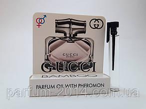 Жіночі масляні духи з феромонами Бамбу Bamboo 5 ml (ліц) пробник аромат запах парфум тестер tester