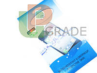 Защитная плёнка для Samsung N7000 Galaxy Note/i9220, прозрачная, ISME