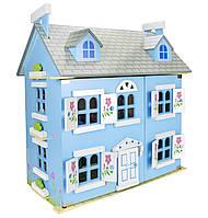 Кукольный дом с мебелью и куклами Альпийский