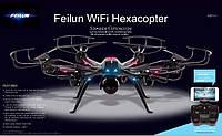 Гексакоптер FX120C3 45 см, WiFi, HD камера! 6 вертушек обеспечат легкое, качественное управление.