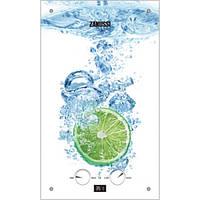 Газовая колонка Zanussi DWH 10 Fonte Glass Lime