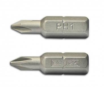 Набор насадок отверточных PH2х25 мм, 100 шт Berg, фото 2