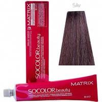 SOCOLOR.beauty стойкая крем-краска 90 мл 5AV светлый шатен пепельно-перламутровый