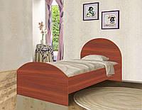 Подростковая кровать KRV из ДСП (120х190 см) ТМ Вальтер-С Яблоня локарно K2-2.12