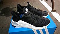 Мужские Кроссовки Adidas Climacool черные с белым 1200