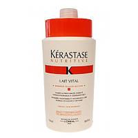 Nutritive Lait Vital Кондиционер сливочный для нормальных и сухих волос 1000 мл