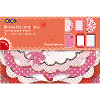 Заготовка для открыток Love