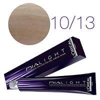 L'Oreal Professionnel's DIAlight 10.13   краска для волос Молочный коктейл пепельно-золотистый 50 ml