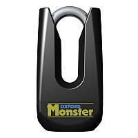 Замок на диск Oxford Monster Disc Lock Black (Черный)