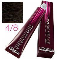 L'Oreal Professionnel's DIArichesse 4.8  краска для волос Шатен мокка 50 ml