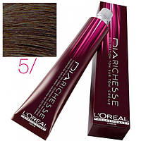 L'Oreal Professionnel's DIArichesse 5  краска для волос Светлый шатен 50 ml