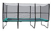 Прямоугольный батут KIDIGO 457х305 см с защитной сеткой и лестницей ТМ KIDIGO BT457-305