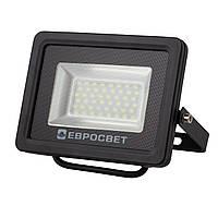 Прожектор светодиодный LED 10 Вт (W) EV-10-01 6400K 800Lm SMD