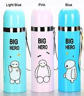 Термос Big hero 350 мл со шнурком