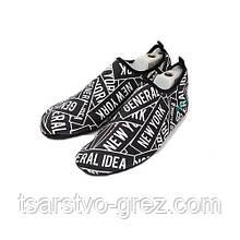 Взуття Actos Skin Shoes для спорту, йога, плавання (NewYork Black) р.:37-37,5; 39; 41