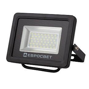 Прожектор светодиодный LED 20 Вт (W) EV-20-01 6400K 1800Lm SMD, фото 2