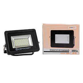 Прожектор светодиодный LED 20 Вт (W) EV-20-01 6400K 1800Lm SMD, фото 3