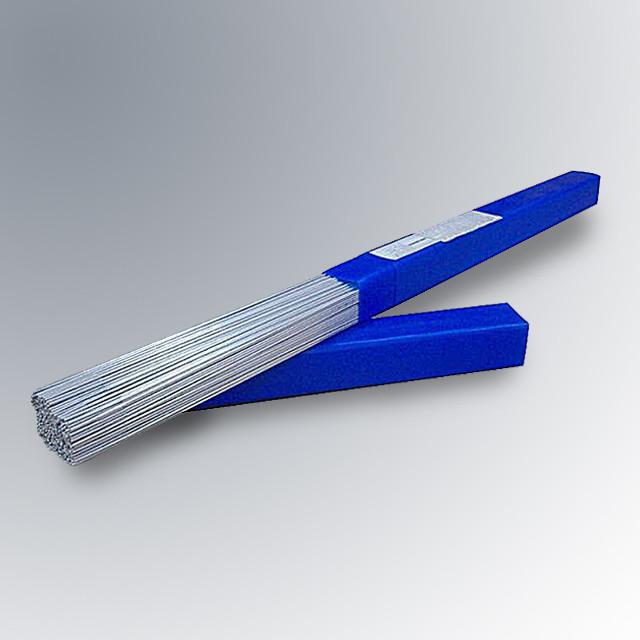 Присадочный пруток для сварки нержавеющей стали   Ф2.4мм ER347 (СВ-07Х19Н10Б) тубус 5кг