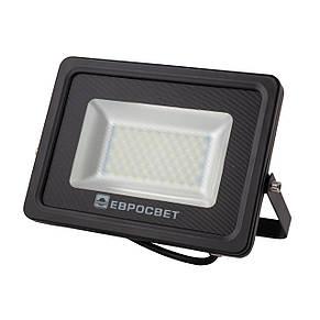 Прожектор светодиодный LED 30 Вт (W) EV-30-01 6400K 2400Lm SMD, фото 2