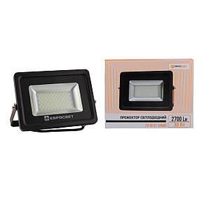 Прожектор светодиодный LED 30 Вт (W) EV-30-01 6400K 2400Lm SMD, фото 3