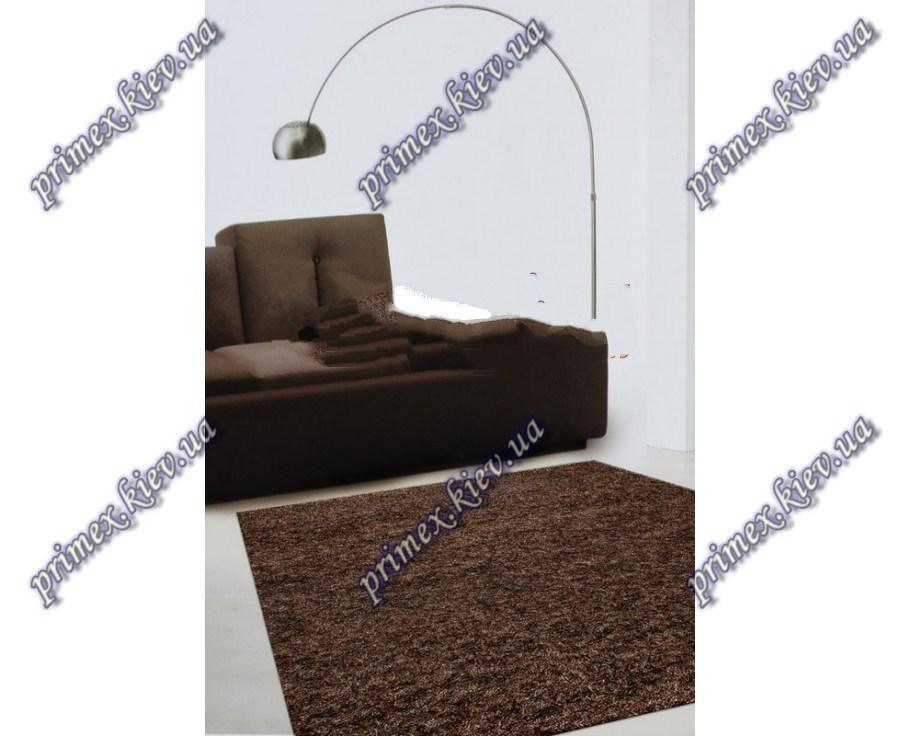Высоковорсные ковры Шагги Флеш, Бельгия, цвет коричневый