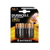 Элементы питания (батарейка) DURACELL LR6 (AA) 6шт/упак