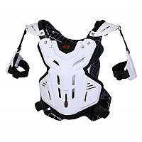 Кроссовый панцирь EVS F2 Chest Protector White (XL), фото 1