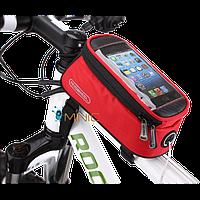 Велосипедная сумка на раму для смартфонов Roswheel 12496