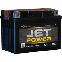Аккумулятор JET POWER 6 мтс 4А/ч 45A 12В AGM 113*70*86